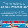 The Ingredients to Your Personal Brand –  14.09.03