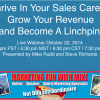 Thrive in Your Sports Sales Career –  14.10.22